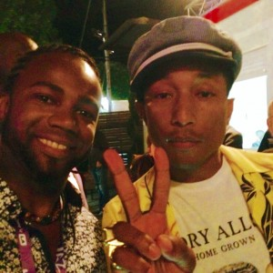 Pharrel Williams & Zaza Desiderio – Jazz à Vienne